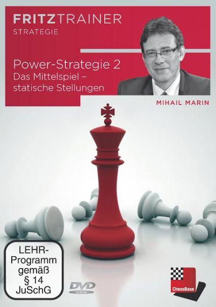 Schach DVD Power-Strategie 2 - Das Mittelspiel - statische Stellungen
