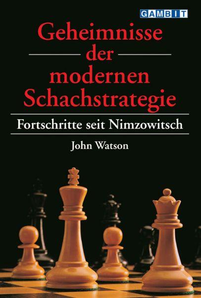 Schachbuch Geheimnisse der modernen Schachstrategie