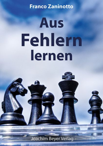 Schachbuch Aus Fehlern lernen