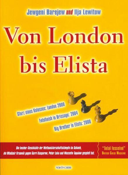 Schachbuch Von London bis Elista