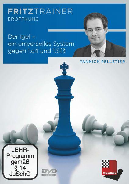 Schach DVD Der Igel ein universelles System gegen 1.c4 und 1.Sf3