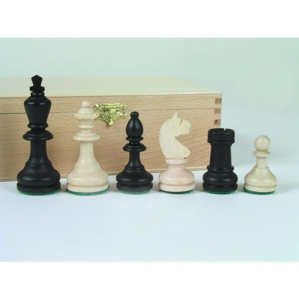 Schachfiguren Bohemia, Königshöhe 95 mm