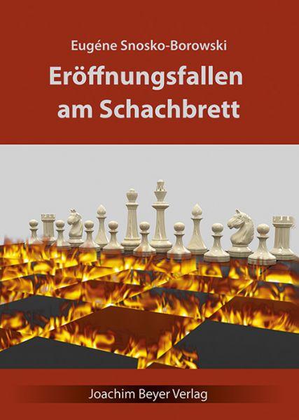 Schachbuch Eröffnungsfallen am Schachbrett