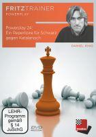 Schach DVD Power Play 24: Ein Repertoire für Schwarz gegen Katalanisch
