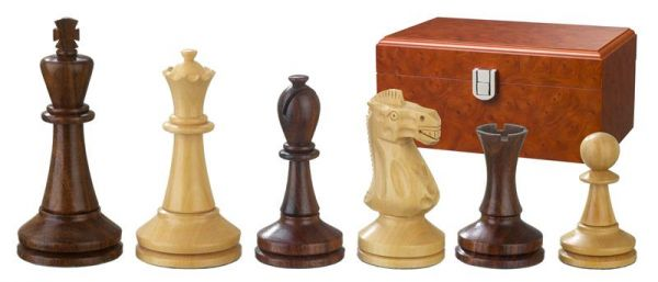 Schachfiguren Augustus, Königshöhe 100 mm