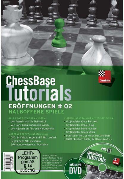 Schach DVD ChessBase Tutorials Eröffnungen # 02: Halboffene Spiele