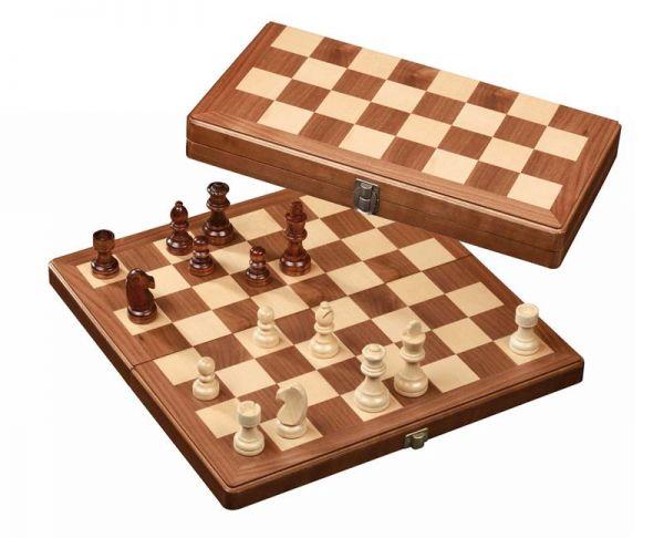 Schachkassette groß, Königshöhe 80 mm, Feldgröße 42 mm
