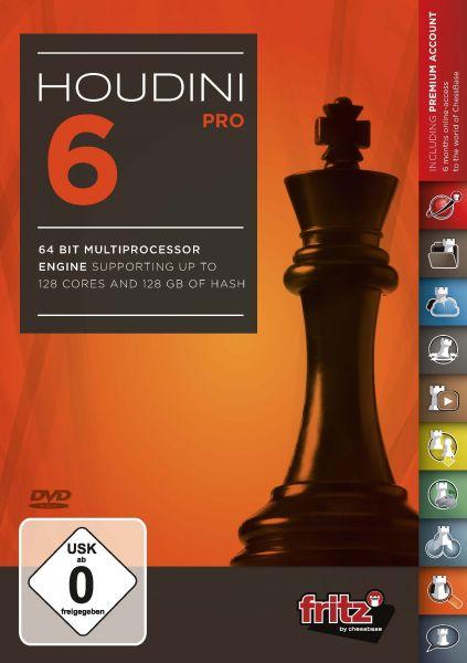 Schachprogramm Houdini 6 Pro