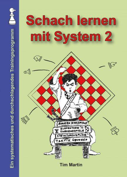 Schachbuch Schach lernen mit System 2