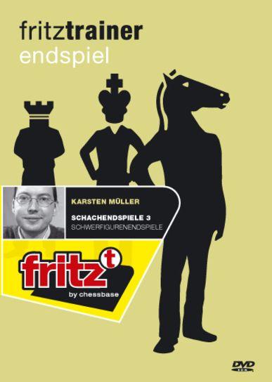 Schach DVD Schachendspiele 3 - Schwerfigurenendspiele