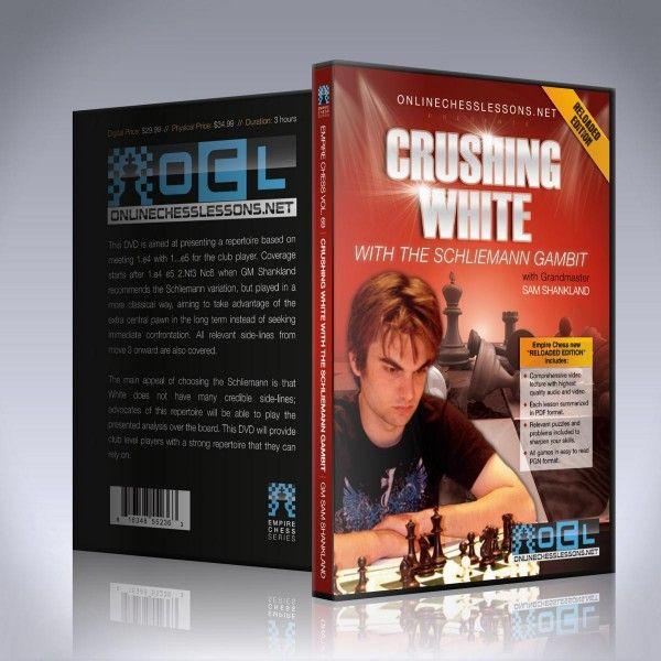Schach DVD Crushing White with the Schliemann Gambit