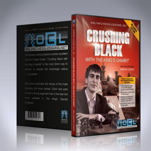 Schach DVD Crushing Black with the King's Gambit