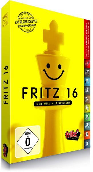 Schachprogramm Fritz 16