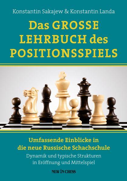 Schachbuch das Große Lehrbuch des Positionsspiels