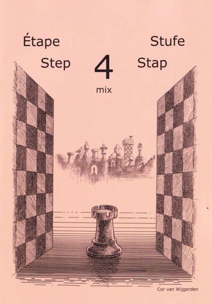 Schach lernen - Stufe 4 mix Schülerheft