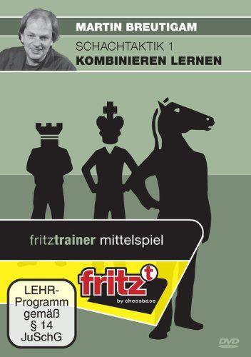 Schach DVD Schachtaktik 1 - Kombinieren lernen
