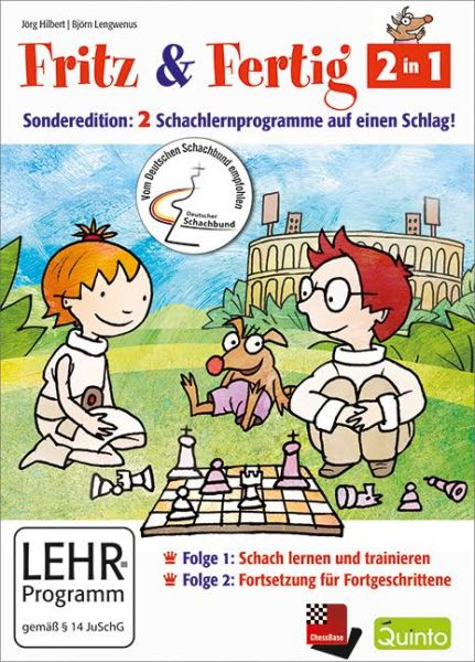 Schach DVD Fritz & Fertig Sonderedition 2 in 1