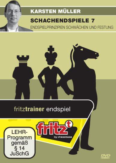 Schach DVD Schachendspiele 7 - Endspielprinzipien Schwächen & Festung