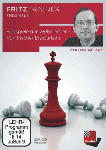 Schach DVD Endspiele der Weltmeister - Von Fischer bis Carlsen