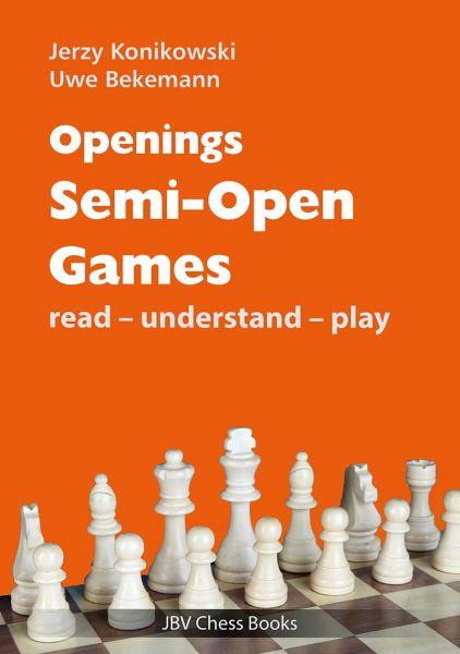 Schachbuch Openings - Semi-Open Games
