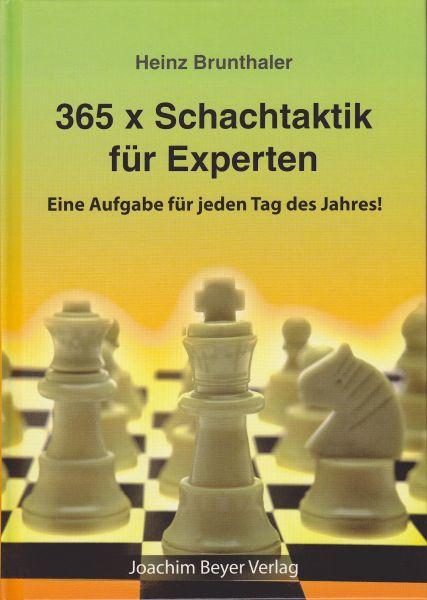 Schachbuch 365 x Schachtaktik für Experten