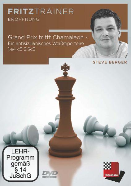 Schach-DVD Grand-Prix trifft Chamäleon - ein antisizilianisches Weißreperteoire