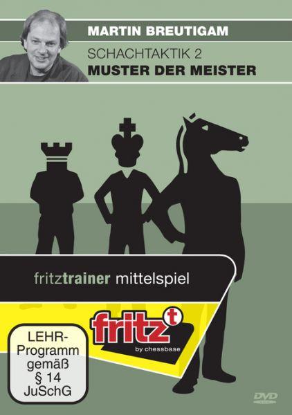 Schach DVD Schachtaktik 2 - Muster der Meister