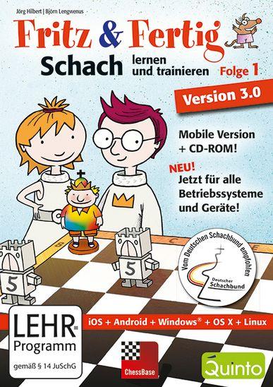 Schach DVD Fritz & Fertig Folge 1 - Version 3