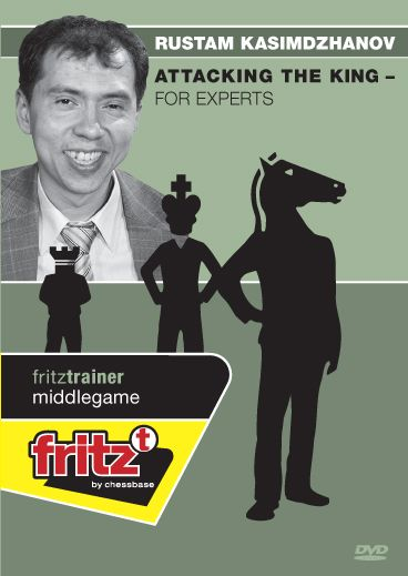 Schach DVD Attacking the King - For Experts