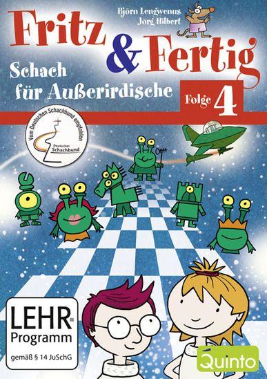 Schach DVD Fritz & Fertig Folge 4