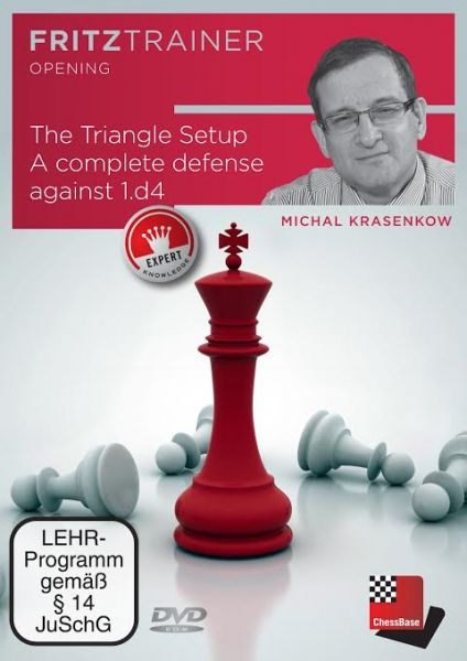 Schach DVD The Triangle Setup - A complete defense against 1.d4