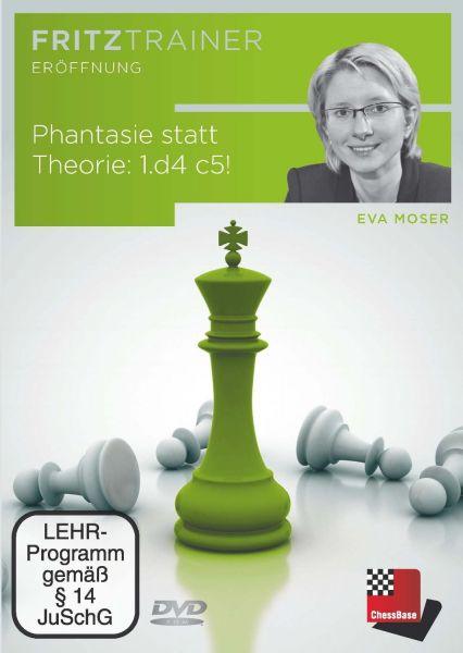 Schach DVD Phantasie statt Theorie 1.d4 c5!