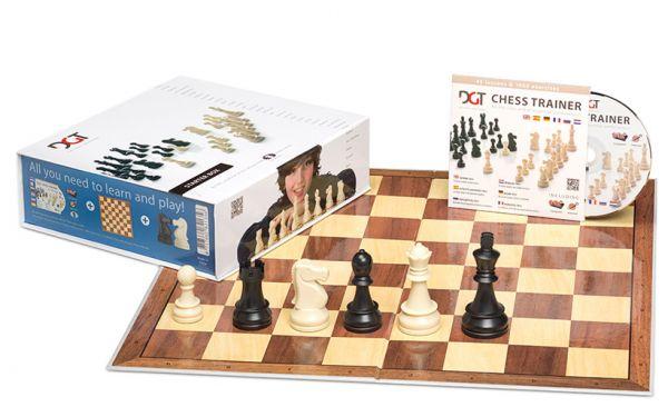 Schachstarterbox blau