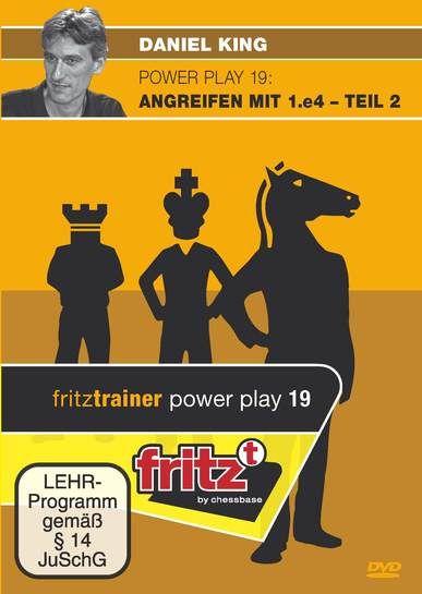 Schach DVD Power Play 19: Angreifen mit 1.e4 - Teil 2