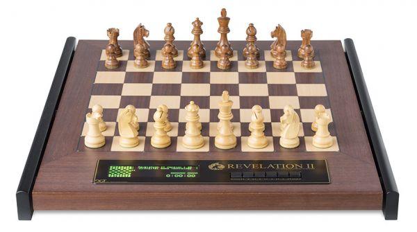 Schachcomputer: Revelation II mit Figuren Timeless