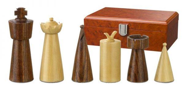 Schachfiguren Galba, Königshöhe 90 mm