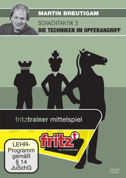 Schach DVD Schachtaktik 3 - Die Techniken im Opferangriff