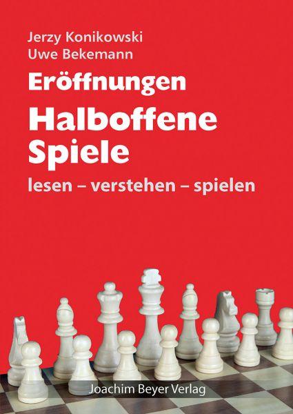 Schachbuch Eröffnungen Halboffene Spiele