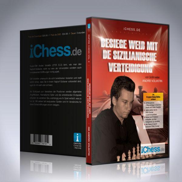 Schach DVD Besiege Weiß mit der Sizilianische Verteidigung