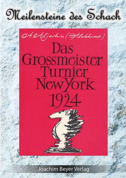 Schachbuch Das Großmeister Turnier New York 1924
