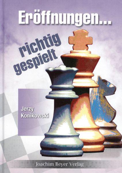 Schachbuch Eröffnungen - richtig gespielt