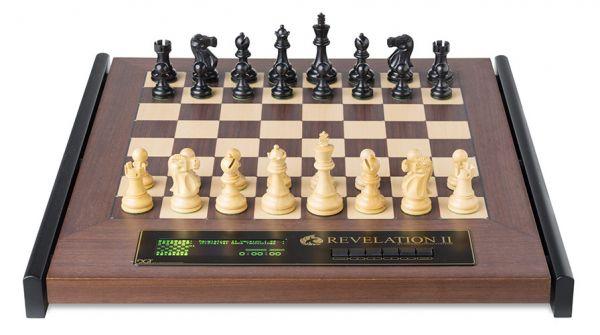 Schachcomputer: Revelation II mit Figuren Classic