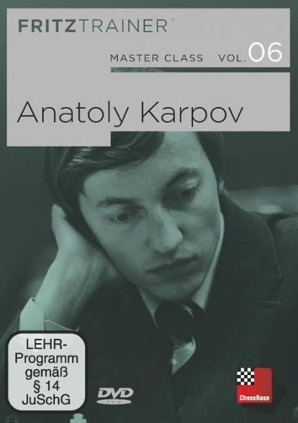 Schach DVD Master Class Band 6: Anatoly Karpov