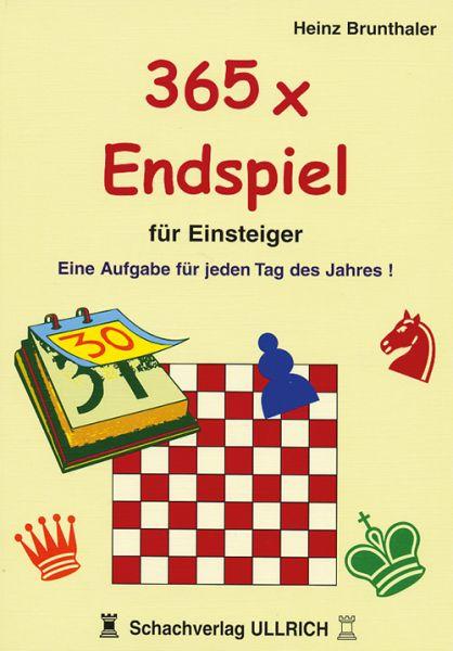 Schachbuch 365 x Endspiel für Einsteiger