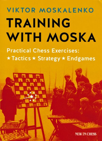 Schachbuch Training with Moska