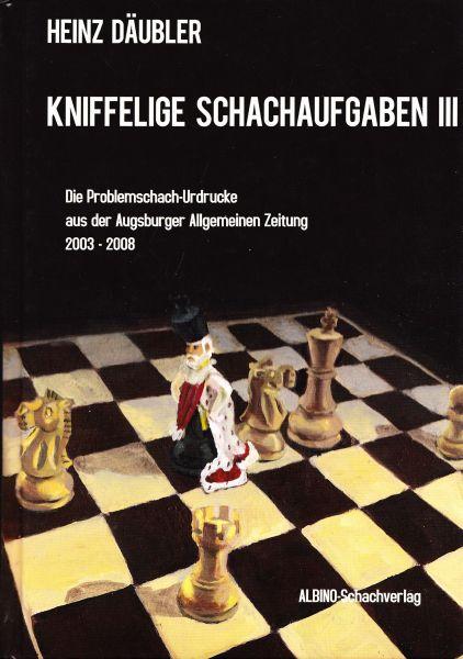 Schachbuch Kniffelige Schachaufgaben III