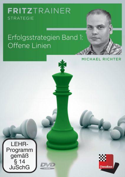 Schach DVD Erfolgsstrategien Band 1: Offene Linien