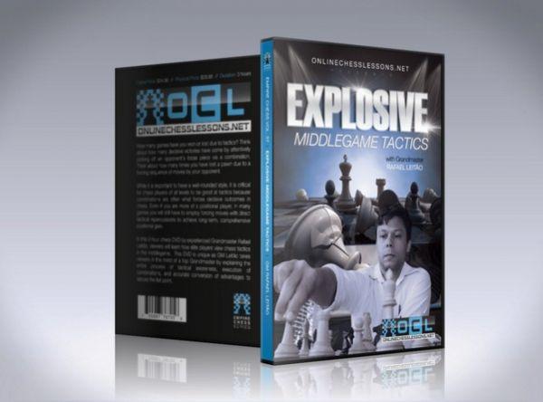 Schach DVD Explosive Middlegame Tactics