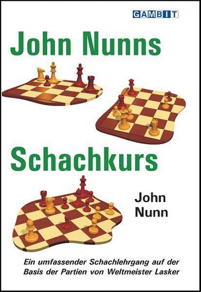 Schachbuch John Nunns Schachkurs