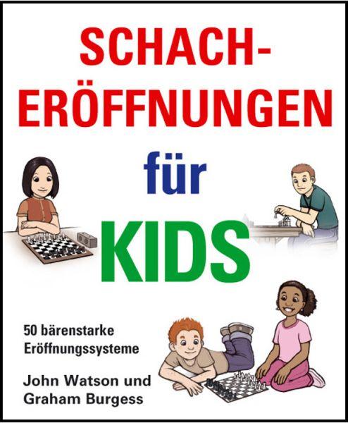 Schachbuch Schacheröffnungen für Kids